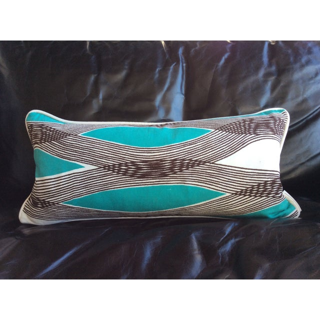 Mid Century Lumbar Pillow : Mid-Century Modern Waves Lumbar Throw Pillow Chairish