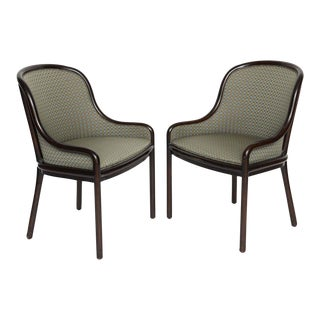 Pair of Ward Bennett Chairs for Brickell 1970s