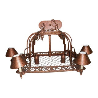 Urban Archaeology Island Copper Kitchen Led Chandelier