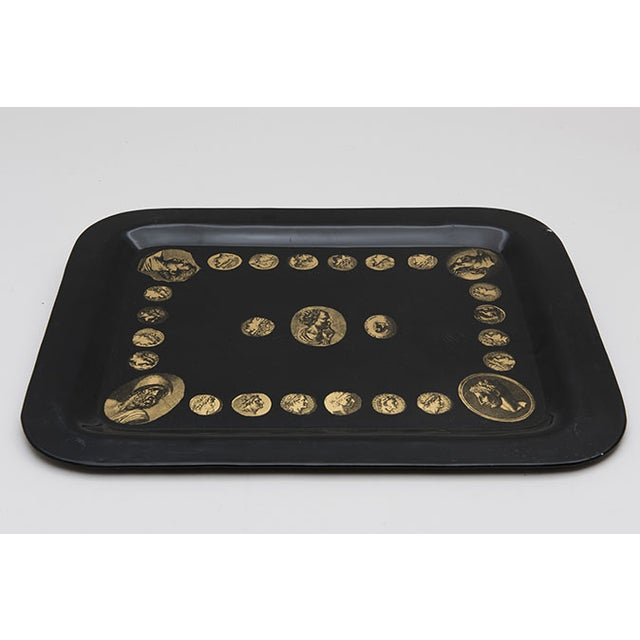 "Early ""Cammei"" Tray by Piero Fornasetti, 1950s - Image 3 of 8"