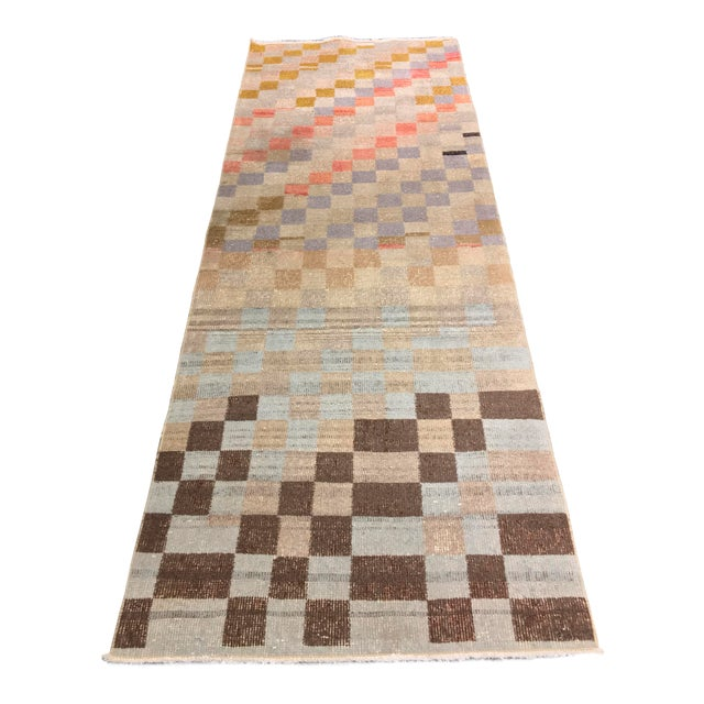 "Bellwether Rugs Vintage Turkish Zeki Muren Runner - 2'11""x8'4"" - Image 1 of 11"