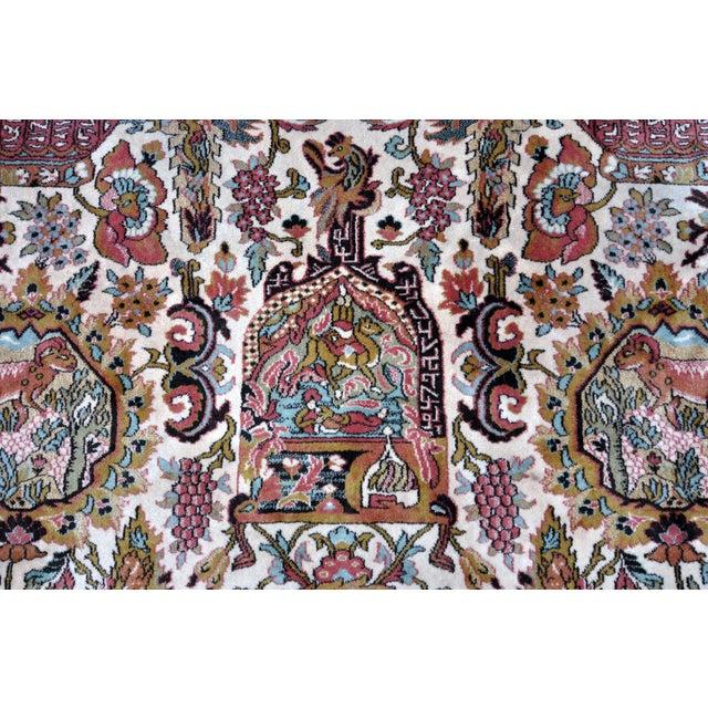 Vintage Besmer Wool Rug - 8′4″ × 11′8″ - Image 7 of 10
