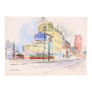 Au Perroquet Restaraunt Bar by Edith Alder
