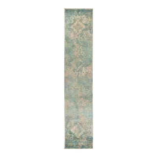 """Vibrance Hand Knotted Runner Rug - 2' 7"""" X 12' 4"""""""