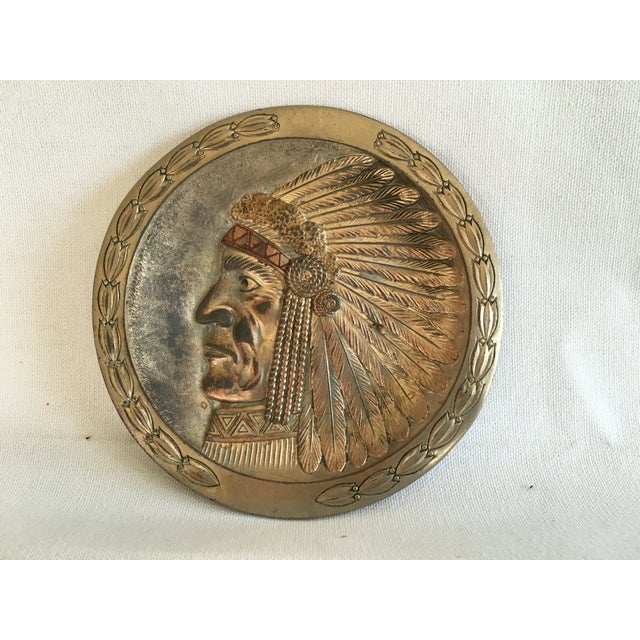 Copper Indian Chief Minitray - Image 2 of 5