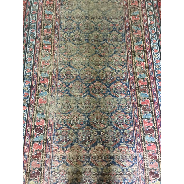 "Vintage Traditional Carpet Runner - 4'2"" x 10'4"" - Image 5 of 7"