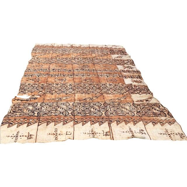 Tapa Cloth Wall Hanging - Image 1 of 10