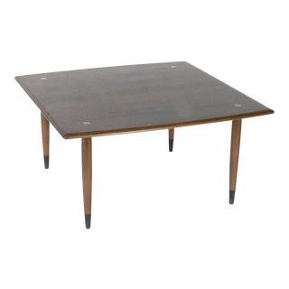 DUX Swedish Modern Walnut Coffee Table