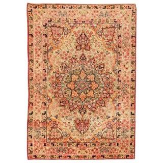 Antique 19th Century Persian Lavar Kerman Rug