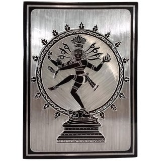 Indonesian Dancing Shiva Metal Work