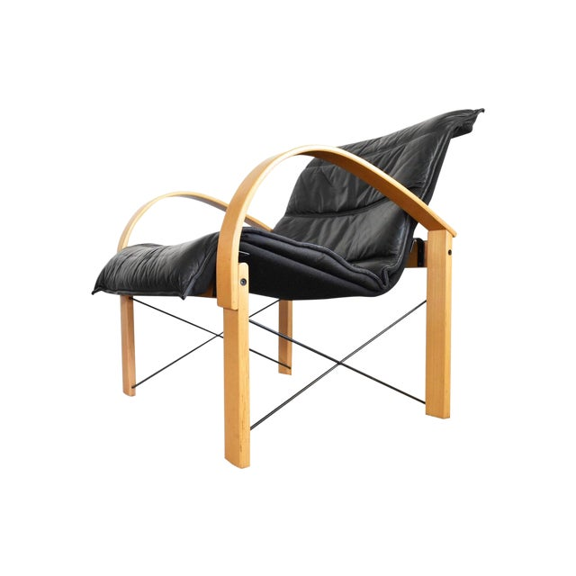 Vintage Italian Bentwood Lounge Chair - Image 1 of 10