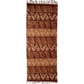Traditional Handmade Runner Rug - 2′ × 5′2″