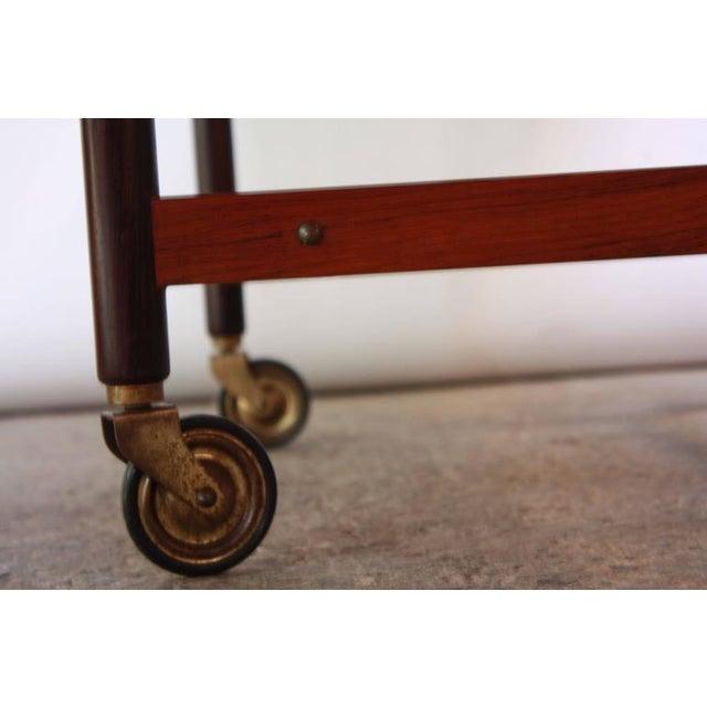Image of Poul Hundevad Rosewood Modular Bar Cart