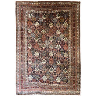 Antique Persian Bakhtiar Carpet
