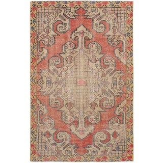 "Vintage Anadol Turkish Rug, 4'7"" x 7'2"""