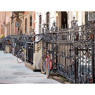 "Josh Moulton ""Manhattan Gates"" Giclee Print After a Painting"