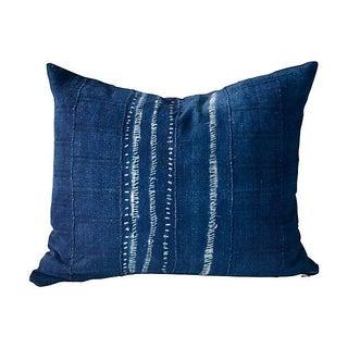 Indigo African Tie Dye Pillow