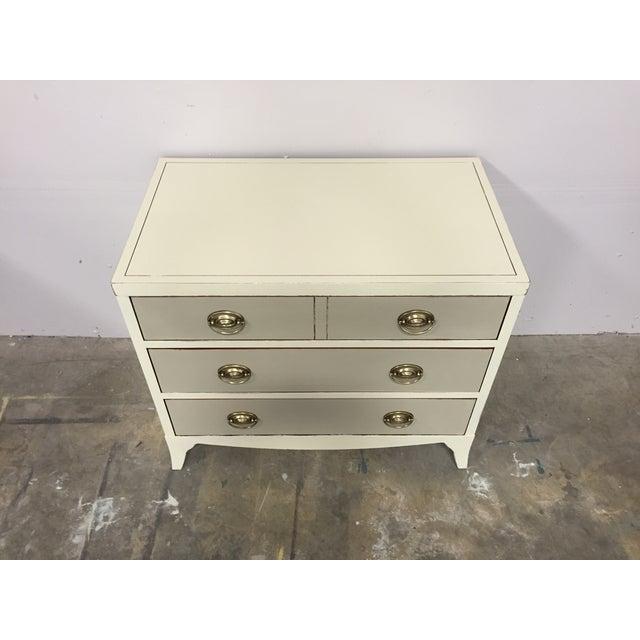 Shabby Chic 2-Toned Dresser - Image 3 of 8