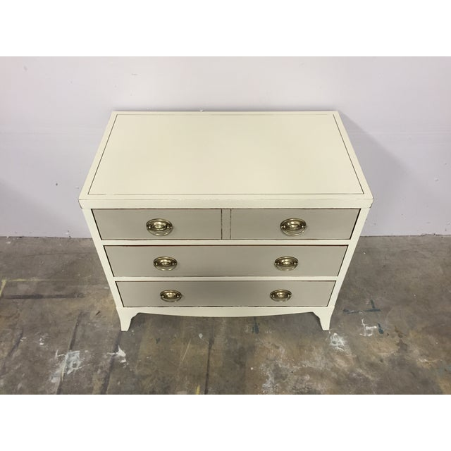 Image of Shabby Chic 2-Toned Dresser