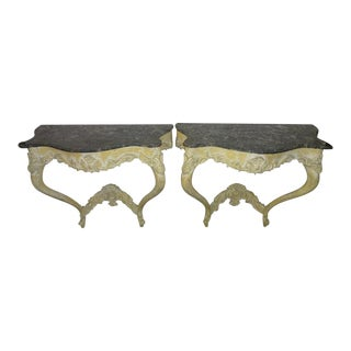 Italian Console Tables - A Pair