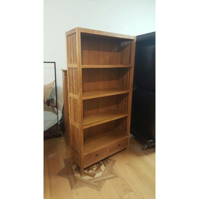 Image of Custom Wooden Bookshelf