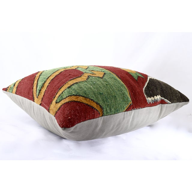 Oversized Kilim Accent Pillow - Image 7 of 8
