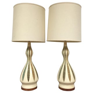 Quartite Table Lamps - a Pair