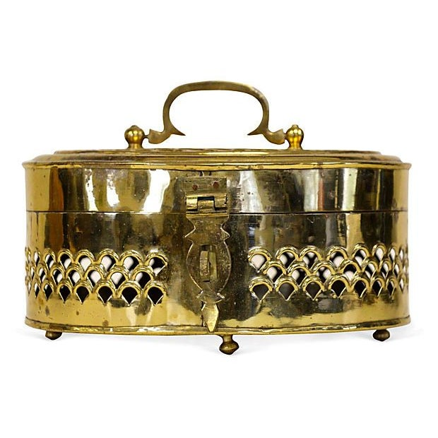 Oversized Brass Cricket Box - Image 3 of 6