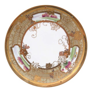 Hand Painted Large Antique Nippon Bowl