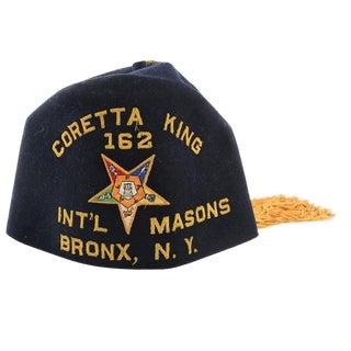 Original Coretta King Masonic Hat