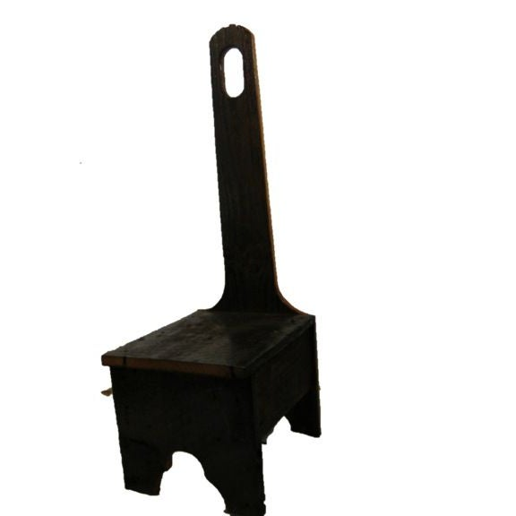 Image of Custom Made Reclaimed Barnwood Step Stool