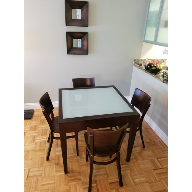 Spanna Extending Dining Table & Kyoto Chairs - Image 2 of 2