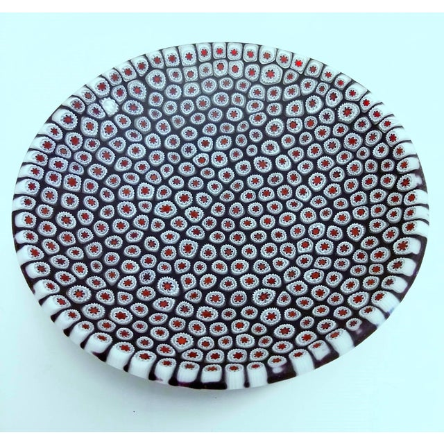 Millefiori Murrine Plate by Ercole Moretti Italy - Image 2 of 7