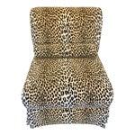 Leopard Print Slipper Chair