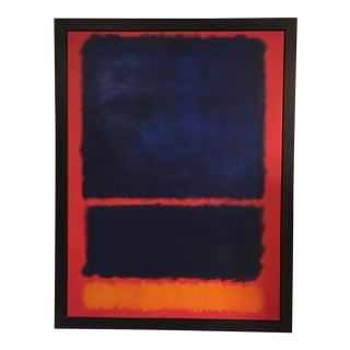 Famous Abstract Canvas Painting With Solid Wood Frame
