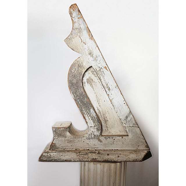 Vintage Hand Carved Wooden Corbels - A Pair - Image 5 of 7