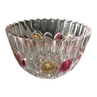 Soga of Japan Crystal Glass Bowl