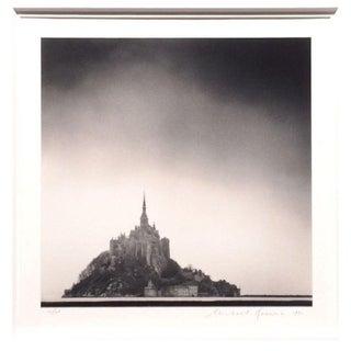 Michael Kenna Mont St. Michel Gelatin Print