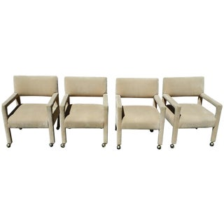 Milo Baughman Parsons Chairs- Set of 4