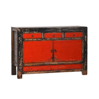 Red Painted Mongolian Buffet