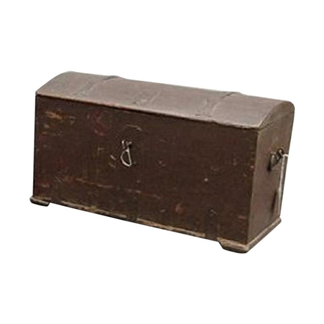 Antique 1780 Painted Trunk - Image 1 of 5