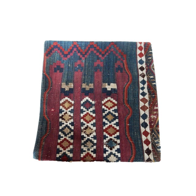 Antique Tribal Kilim Pillow Cover - Image 2 of 6