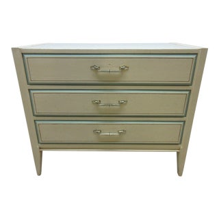 Vintage Painted French Regency Bachelors Chest