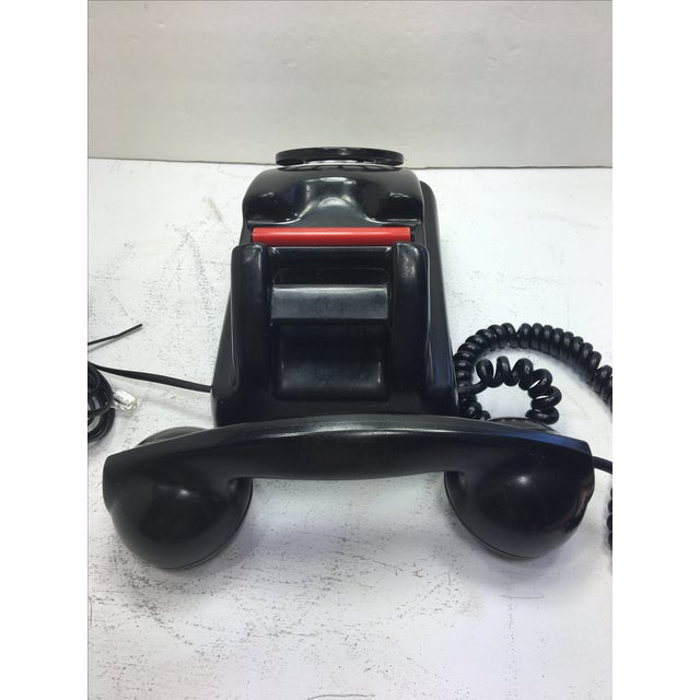 Kellogg Red Bar Rotary Dial Telephone - Image 6 of 11