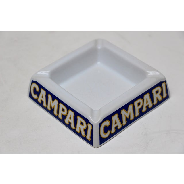 Italian Porcelain Campari Ashtray - Image 2 of 7