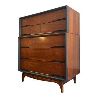 Kent Coffey Mid-Century Forum Tallboy Dresser