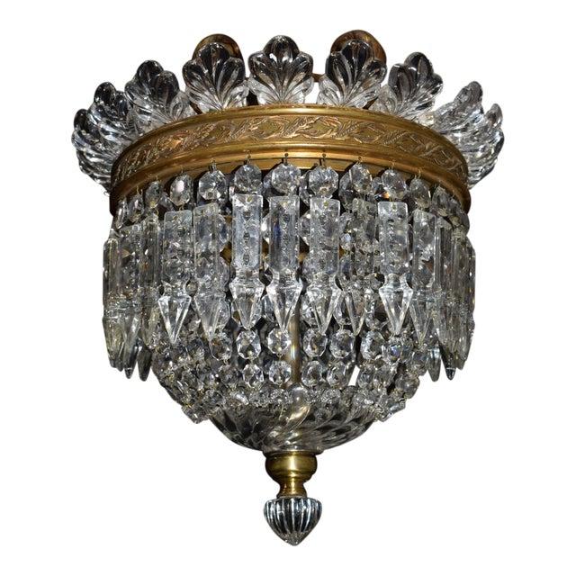 Antique lighting, Baccarat pendant - Image 1 of 6