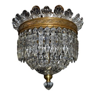 Antique lighting, Baccarat pendant