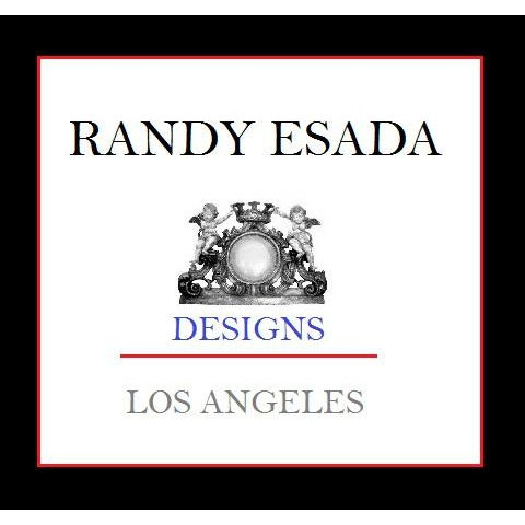 Regency Style Designer Taboret Bench by Randy Esada Designs - Image 3 of 4