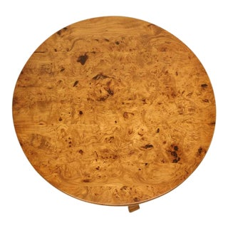 French Center Hall or End Table in Burl Elm